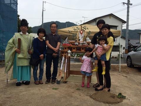 松本様邸の地鎮祭_4560