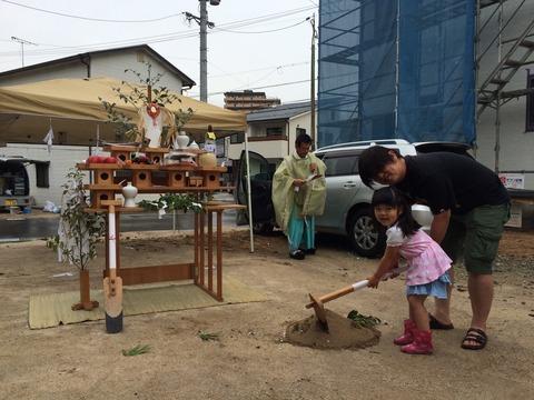 松本様邸の地鎮祭_4196