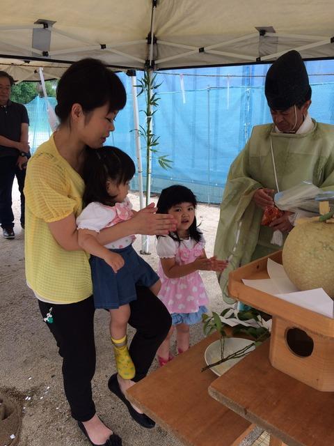 松本様邸の地鎮祭_8711